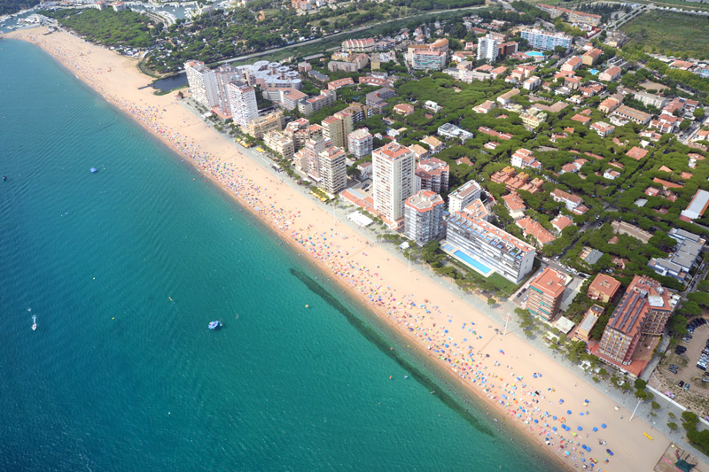 Gran playa Platja D'Aro